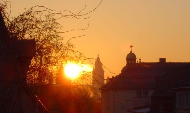 Nur ein Sonnenuntergang.